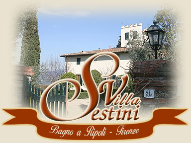 bed and breakfast in villa near Florence, Italy