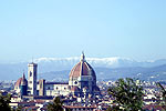 View of Florence from our vacation villa